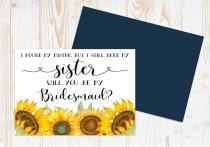 wedding photo - I found my mister but I still need my sister Bridesmaid Card - Bridesmaid proposal - Maid of Honor, Matron of Honor, Proposal Card