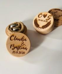 wedding photo - Ringbox wedding, ring box personalized, wedding ring box, wedding, ring box wedding, ringbox own logo, personalised logo