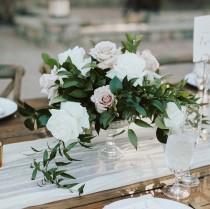 wedding photo - Glass Wedding Centerpieces - Pedestal Vase - Glass Compote Vases  - Wedding Vase - Glass Vases - Table Centerpiece