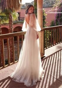 wedding photo - New long-sleeved wedding dress, WISH long v-neck Lace Mesh Dress, bridesmaid dresses