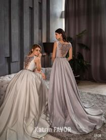 wedding photo - Alternative Wedding Dress Prom Dress Long Evening Gown Formal Dress Wedding Guest Dress Embroidered Dress Gray Wedding Dress Backless Dress