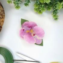 wedding photo - Pink Phalaenopsis Orchid Hair Clip, Artificial Wedding Flowers, Orchid Hair Clip, Crocodile Clip, Double sided, Pink Orchid, UK