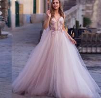 wedding photo - Lilac, white or ivory dress plus size