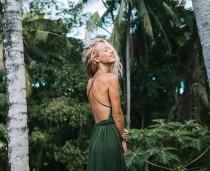 wedding photo - Flowy Boho Bali Summer Dress
