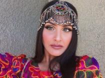 wedding photo - Afghani Head Piece - Mathapati Top Quality Hand Made