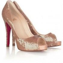 wedding photo - Chaussures Christian Louboutin Wedding ♥ Talons Mariage Chic et confortable