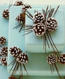 wedding photo - Fondant Wedding Cakes for Winter Weddings ♥ Wedding Cake Design