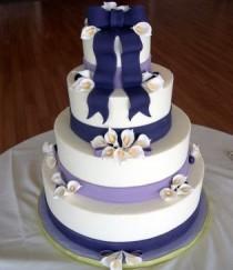 wedding photo - Специальные Fondant Свадебные торты ♥ Yummy Vintage Свадебный торт