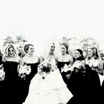 wedding photo - Damas de honor