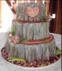 wedding photo - Textured Wedding Cake ♥ Wedding Cake Design