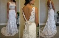 wedding photo - Chic Special Design Brautkleid ♥ Romantic Lace Wedding Dress