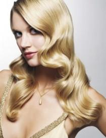 wedding photo - Coiffures de mariage Glamour ♥ longs cheveux brillants de mariage Curls