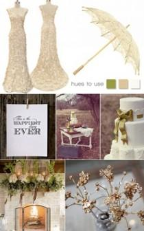 wedding photo - L'inspiration de mariage de cru