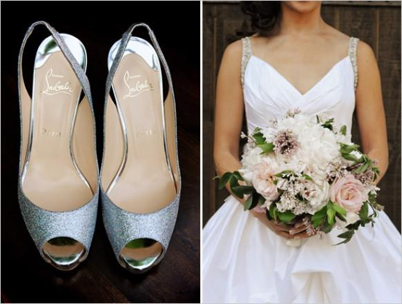 Silver Wedding Shoes How To Shine Even Brighter On The Day Weddbook