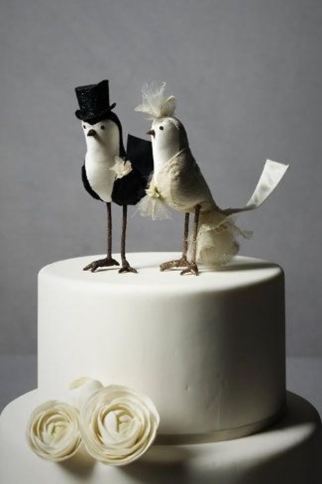 wedding cake decorations birds cake topper bird cake topper bhldn 2066859 weddbook 22399