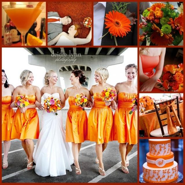 wedding ideas orange orange wedding orange wedding theme 2098082 weddbook 28275