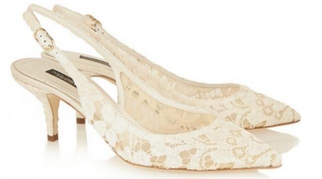I Love Shoes Le Scarpe In Pizzo Di Dolce Gabbana