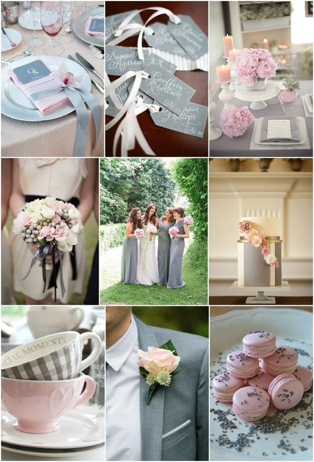wedding ideas pink and grey cool pink and grey wedding ideas weddbook 28285