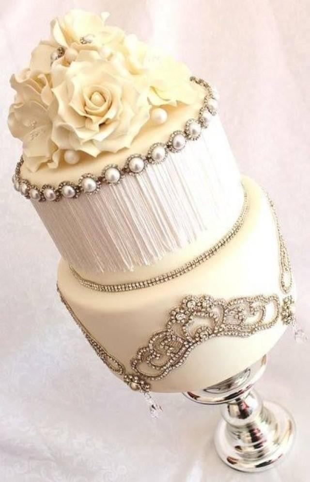 white wedding cake with gold bling gold wedding white amp gold wedding cakes 2209042 weddbook 27410