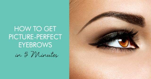 How To Get Picture Perfect Eyebrows In 5 Minutes - Weddbook