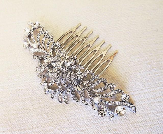 vintage style hair comb laurine vintage inspired bridal hair comb wedding hair 4392