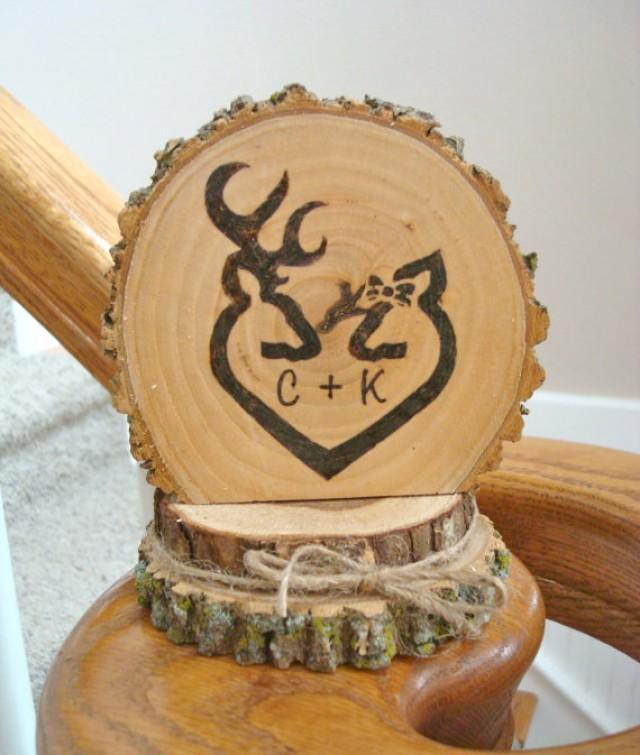 rustic wedding cake toppers wedding cake topper rustic wood personalized deer 7207
