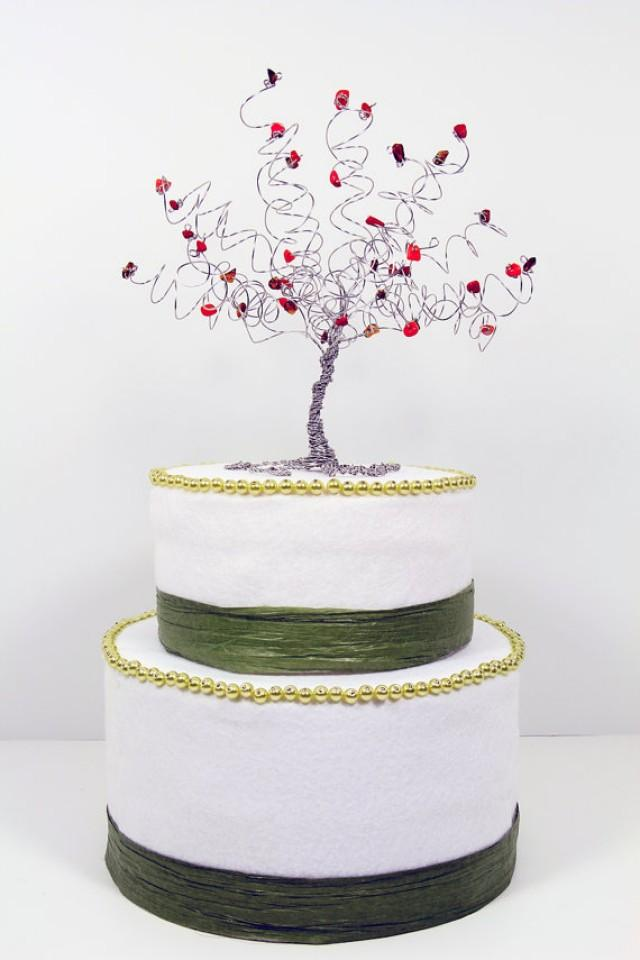 ottawa wedding cake toppers wedding cake topper fall tree custom wire sculpture autumn 18076
