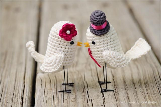 bird wedding cake topper new version crochet bird wedding cake topper 2259770 1723