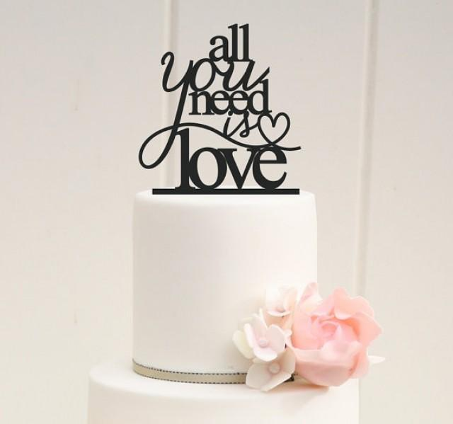 bridal shower cake toppers all you need is wedding cake topper or bridal shower 2063