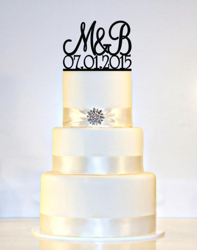 wedding cake topper monogram initials wedding cake topper monogram personalized with your 8808