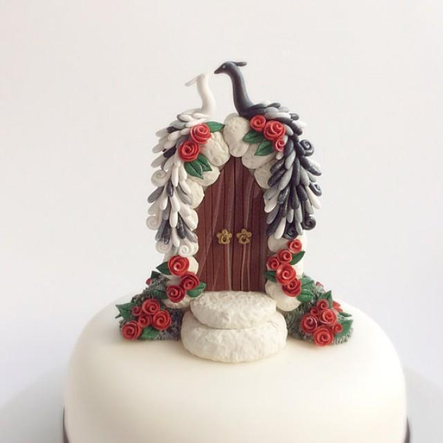 red and white wedding cake toppers peacock wedding cake topper in black and white with 19106