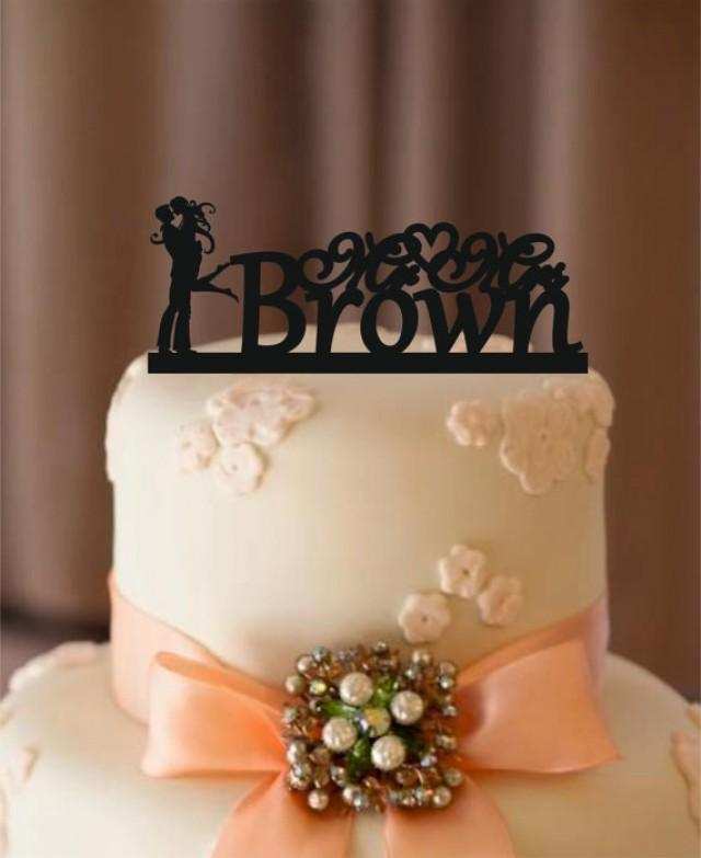monogram wedding cake toppers silhouette wedding cake topper personalized wedding cake 5998
