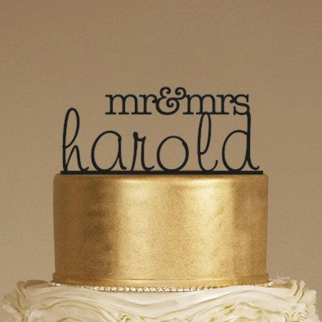 wedding cake toppers mr and mrs custom wedding cake topper personalized monogram cake 26547