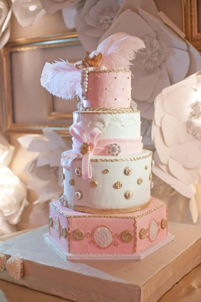 gold and pink wedding cakes cake pink and gold wedding cakes 2411015 weddbook 14740