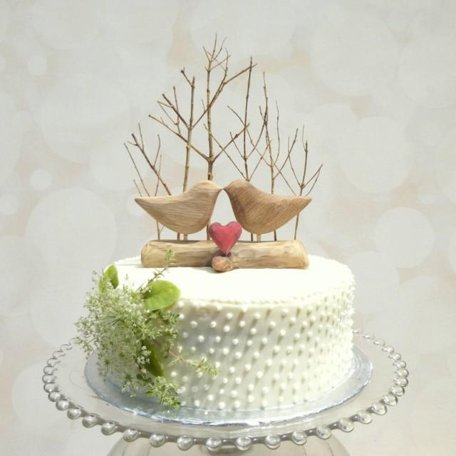 wedding cake with love birds best seller winter wedding cake topper with birds 26923