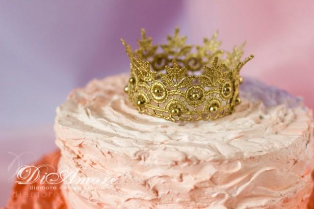 crown cake topper lace crown cake toppergold wedding crown topper gatsby 3196
