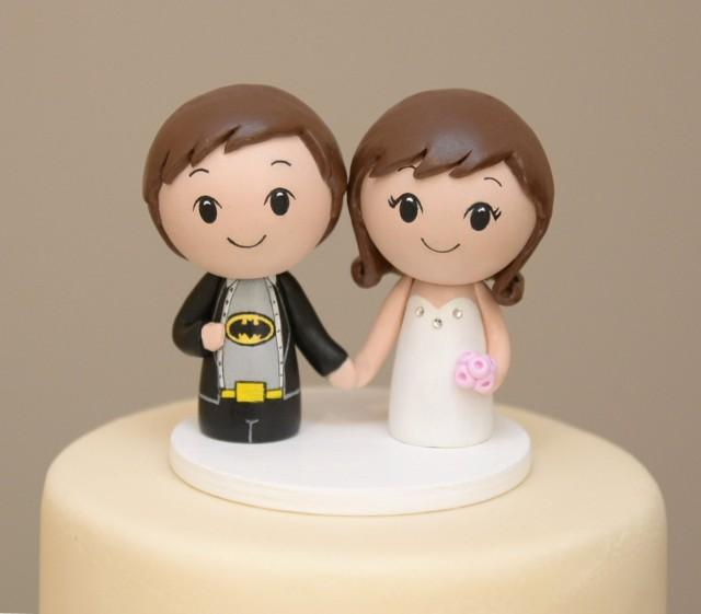 custom superhero wedding cake toppers topper for the month of february personalized cake topper 13231