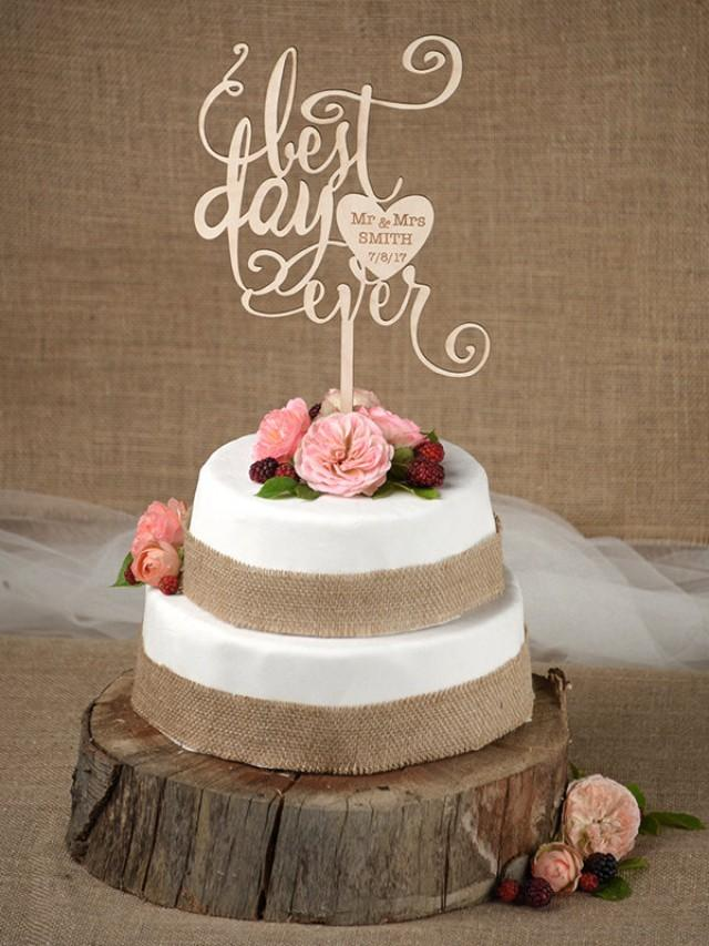 best wedding cake toppers ever rustic cake topper wedding custom cake topper wood cake 11703