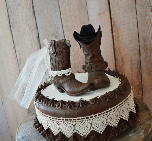 western cake toppers for wedding cakes western wedding cowboy boot cake topper western and 27015