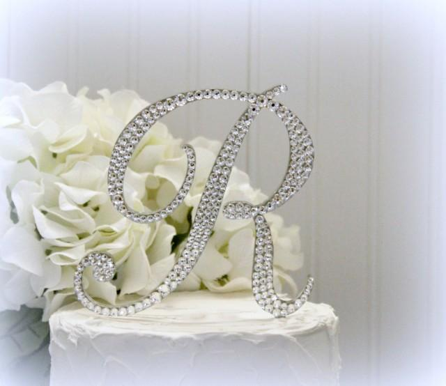 letter h wedding cake topper 5 quot monogram letter wedding cake topper cake topper 16834