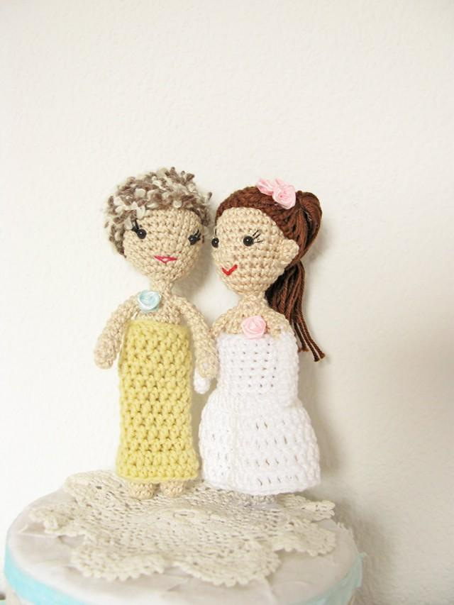 lesbian cake toppers wedding cake topper and cake topper 5497