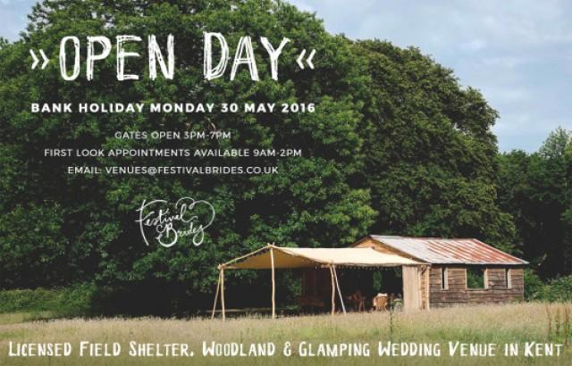 Open Day This Monday At Our Beautiful Woodland Wedding Venue In Kent Weddbook