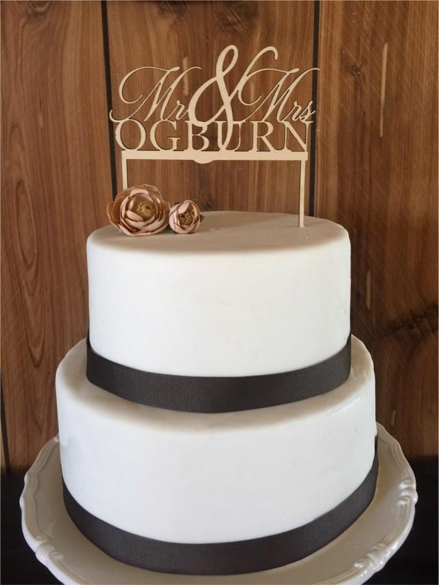 custom wooden wedding cake toppers wooden custom cake topper cake toppers mr mrs cake 13266