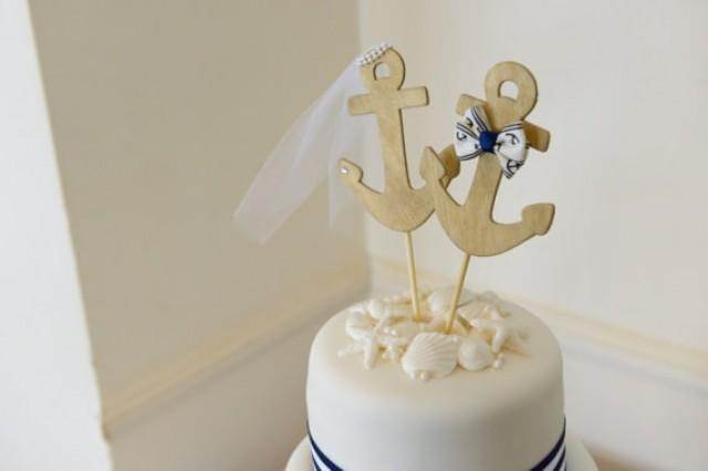 nautical cake toppers for wedding cakes anchors away wedding cake topper anchors boat wedding cake 17728