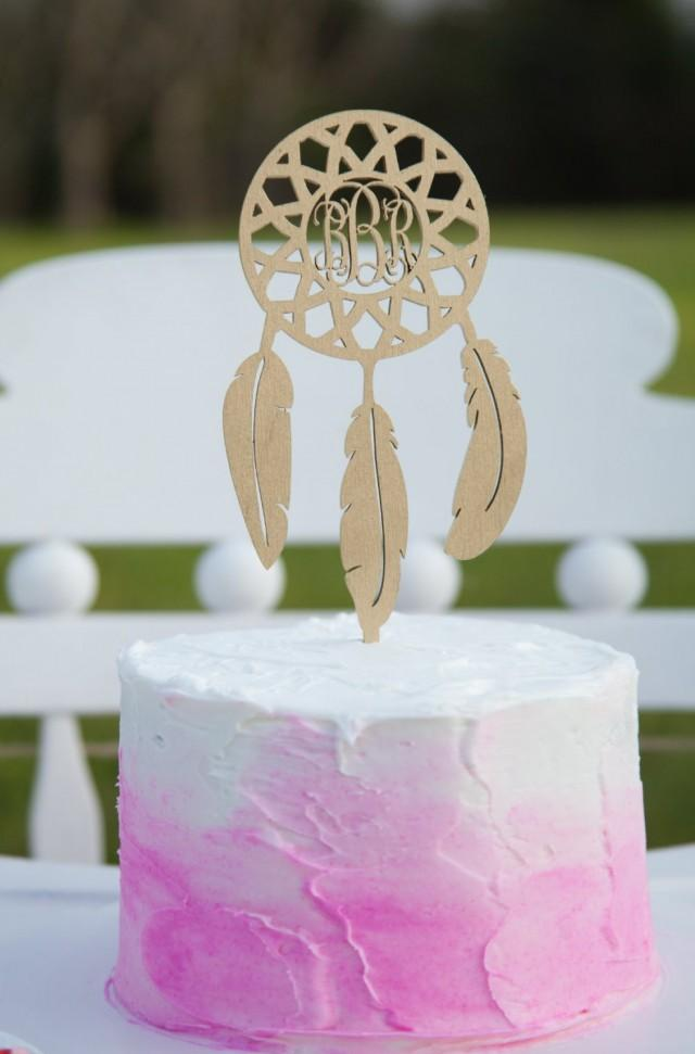 wedding cake monogram topper personalized cake topper monogram catcher cake 23276