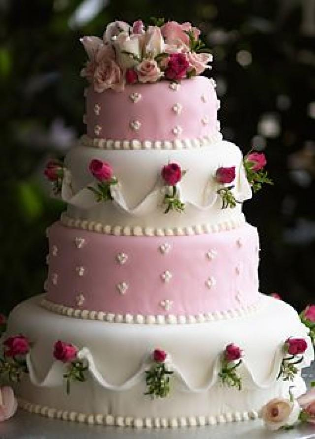 pink and white rose wedding cake cake pink and white wedding cake with roses 2542397 18557