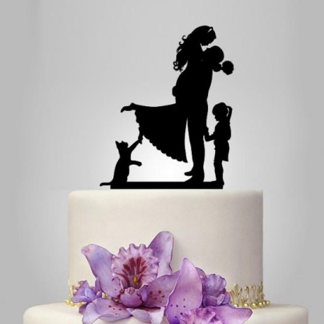 cat bride and groom wedding cake topper and groom wedding cake topper with cake topper 12452