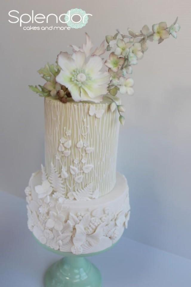 amazing wedding cakes with flowers cake amazing flower pot cake 2671202 weddbook 10736
