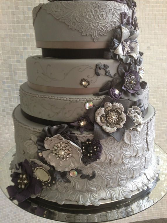 gray wedding cake cake cakes for am 2023644 weddbook 14903
