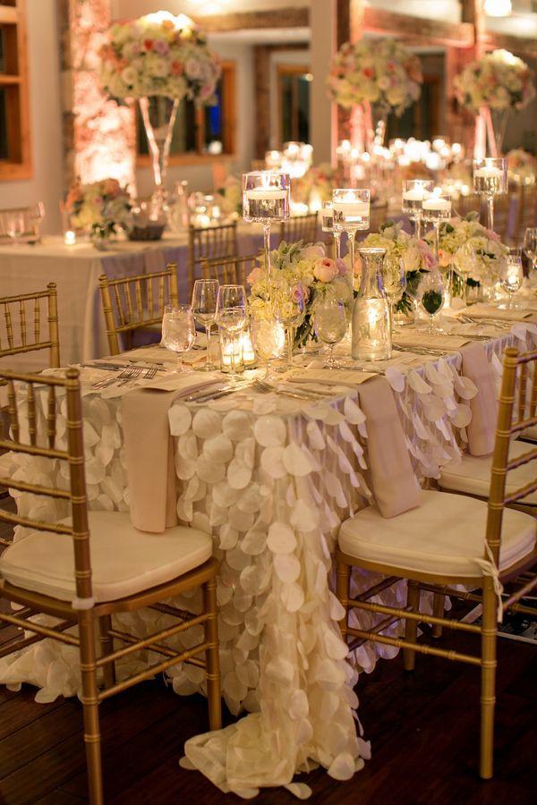 D Petal Table Linens